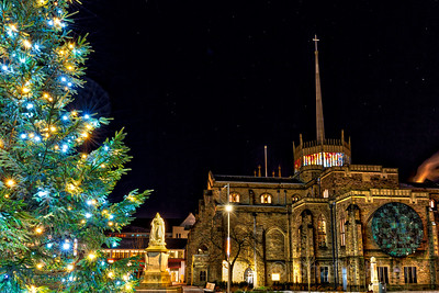 Blackburn Cathedral at Christmas