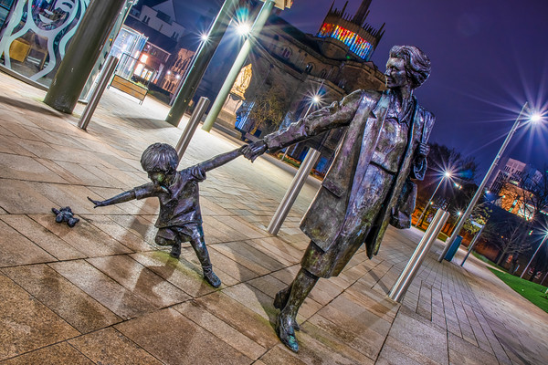 The 'Grandmother and Child' Sculpture