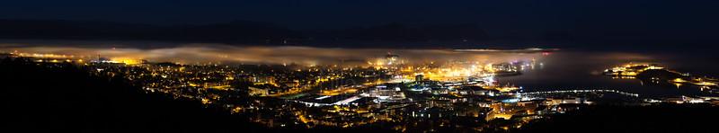 Nattbildet av Bodø