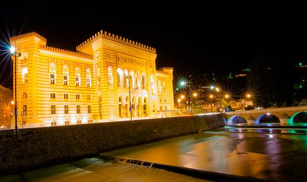 Sarajevo City Hall (Vijećnica)
