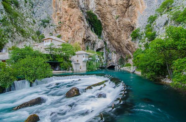 Blagaj Tekke and the Buna River