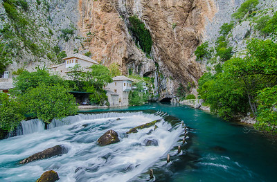 Blagaj Tekke and the Buna River