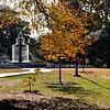 Fountain in the Fall