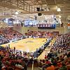 basketball arena full wide shot