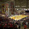 Basketball arena full, University Center