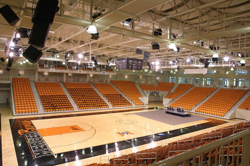 Arena empty