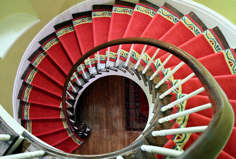 Woodruff House Stairs