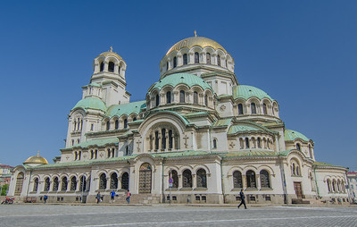 The St. Alexander Nevsky orthodox cathedral