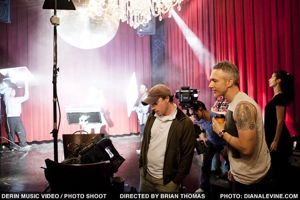 BTS Directing my first Music Video