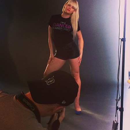 Photoshoot for Dancers Against Cancer