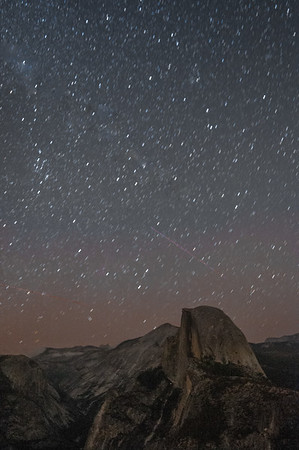 Starry Skies over Half Dome