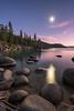 Lake Tahoe Moonrise