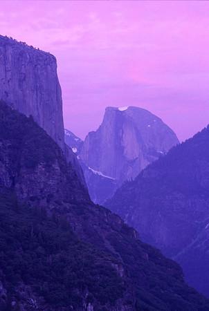 Half Dome at Twilight
