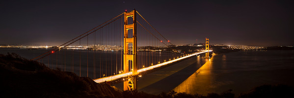 Golden Gate Second Night Panoramic