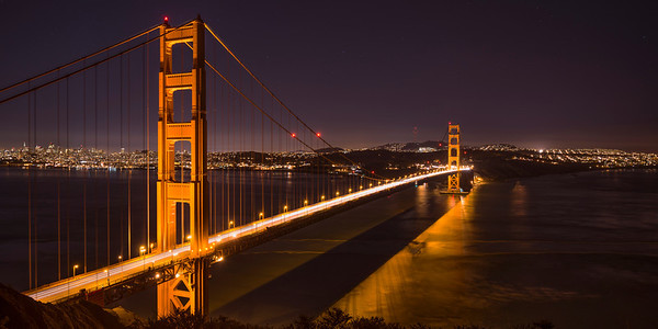 Golden Gate Second Night Pan