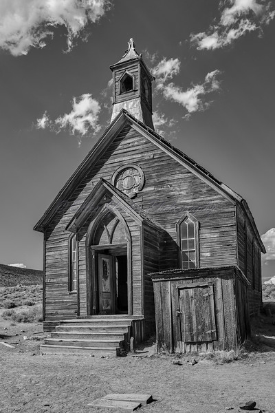 Methodist Church - Bodie Ghost Town
