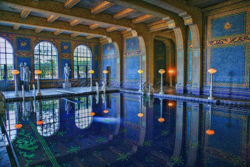 Hearst Castle Indoor Pool