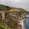 The Bixby Bridge in Big Sur