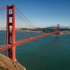 Golden Gate Bridge & Half Moon