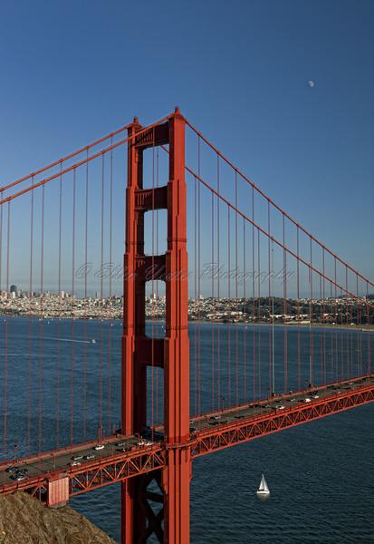 Top of Golden Gate Bridge