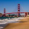 Golden Gate Bridge from Baker Beach