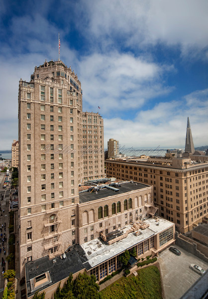 View of San Francisco Downtown