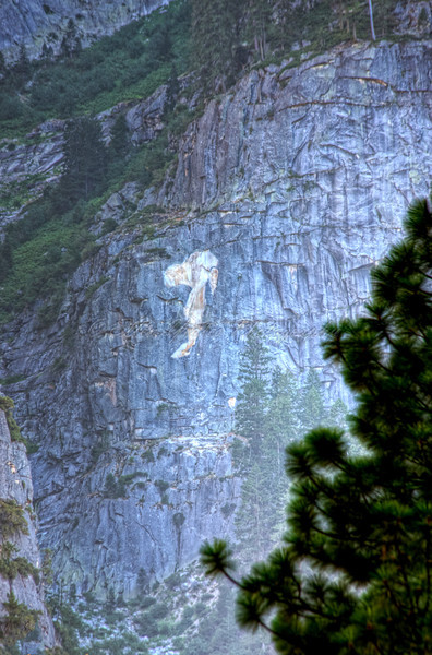 Snoop at Yosemite Valley