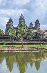 Ankor Wat temple, Cambodia