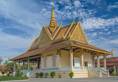 The Phochani Pavilion in the Cambodian royal palace compex, Phnom Penh