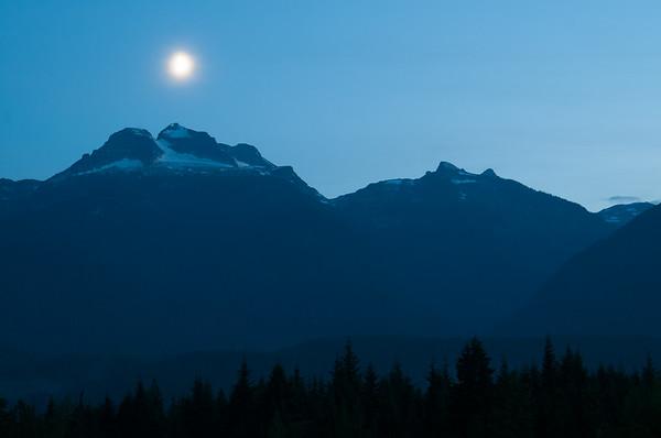 Revelstoke Moonrise