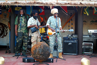 Photos from the annual New Years Eve party held in the British Virgin Islands at Trellis Bay.