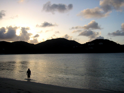 Sometimes we have to cleanse our soul and reflect.  Long Bay, Beef Island, British Virgin Islands