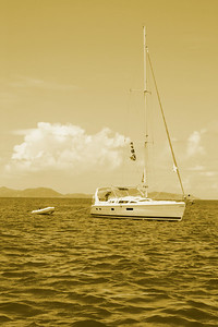Sailing really does take you away...but oh so what a wonderful place!  Sir Francis Drake Channel, British Virgin Islands