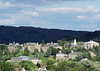 Colgate University campus from the west