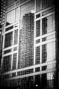 Reflection of Marina City