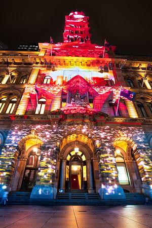 Sydney's christmas lights