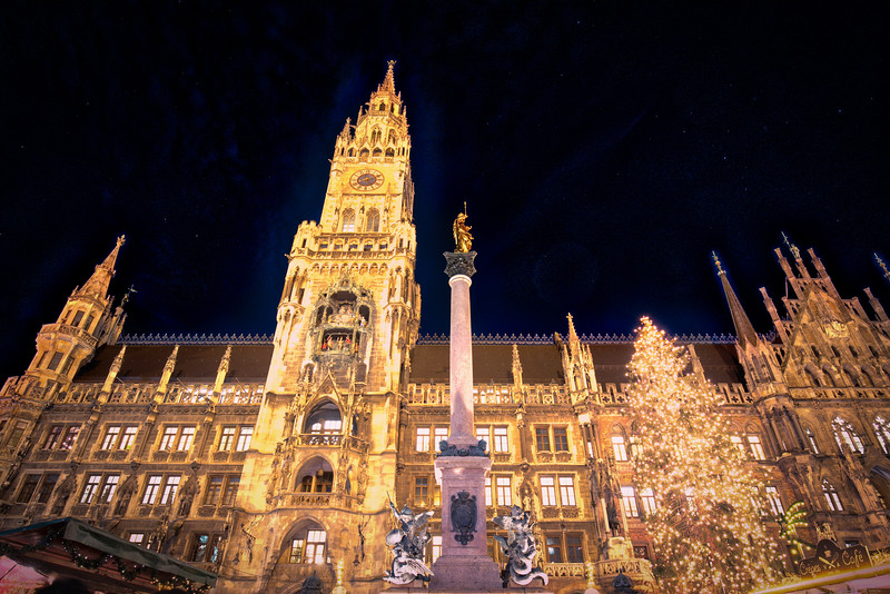 Munich by night