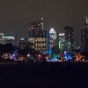 Trail of Lights and the Austin Skyline