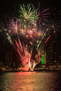 Aloha Tower Firework Preview
