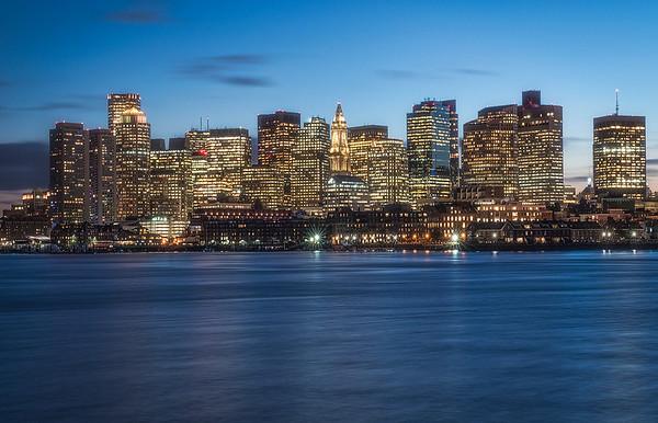 Skyline and Harbor from East Boston (Lo Presti Park)