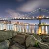 The Manhattan Bridge, New York