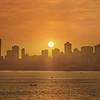Mumbai's Sunset from Walkeshwar / Back Bay