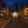 A very early morning (about 5am) at Veena Nagar (near Mulund Check Naka), Mulund West (Mumbai)