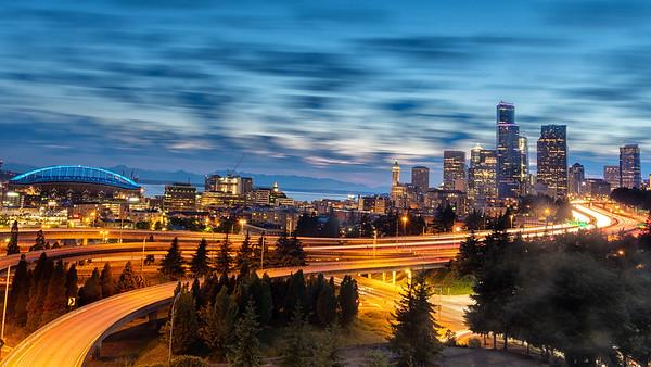 Sunset | Seattle Skyline