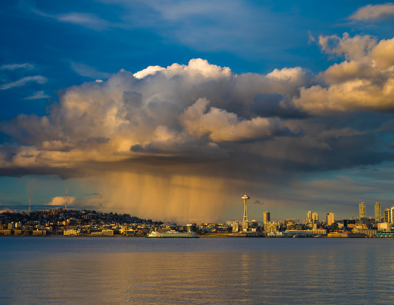Seattle Thunderstorm