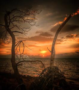 Stormy Ocean Sunrise