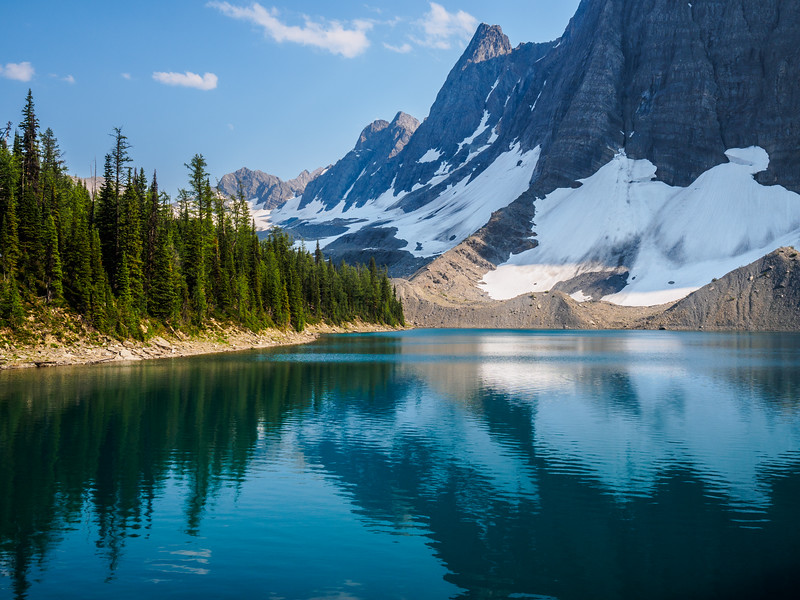 Floe Lake, Kootenay National Park, Canada