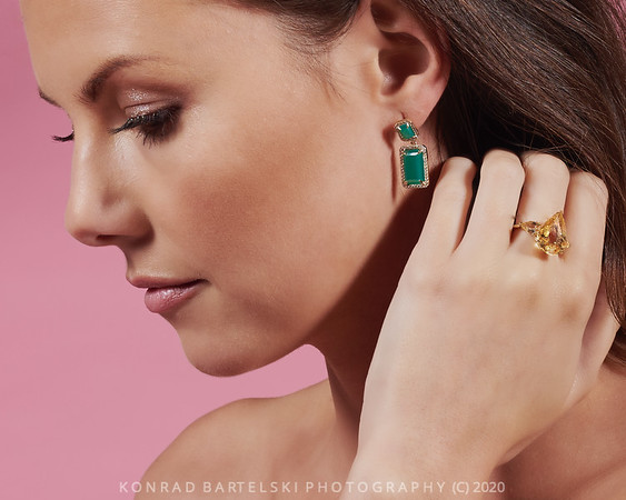 Emily Mortimer Jewellery shoot, London