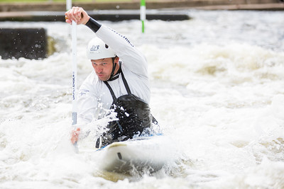 White Water Canoe Slalom race, premier league
