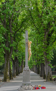 Christ on the Cross, Mirogoj Cemetery